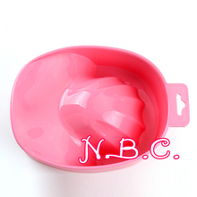 1x Hot Selling 1pc New Acrylic Nail Soaker Bowl Art Tips Soakers Tray Polish Gel Treatment Remover Manicure Off Bowls Tools(China)