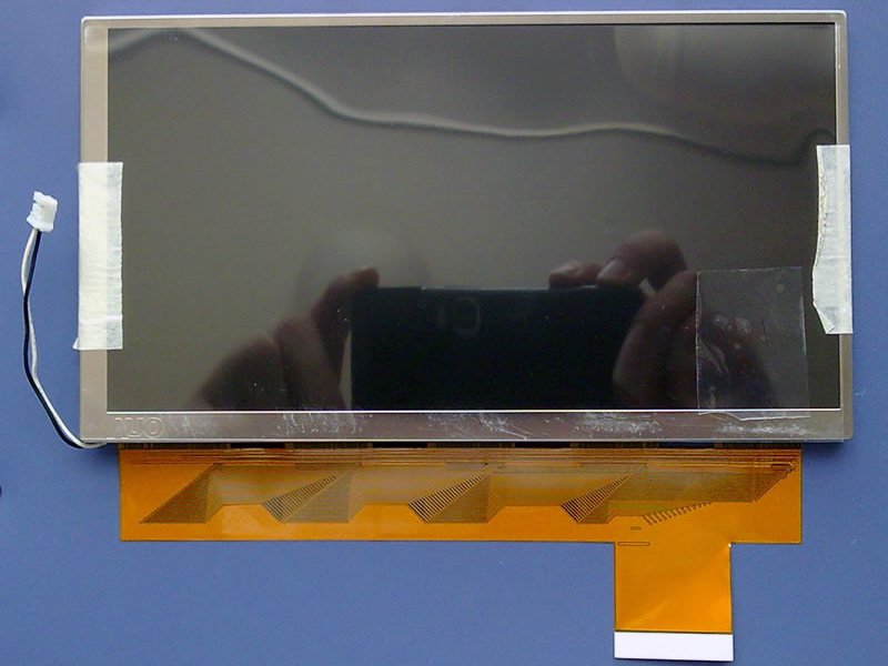 New original genuine AUO7 inch LCD screen C070VW03 V0 car DVD navigation car screen<br>
