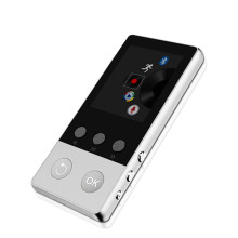 2017 High Quality Alloy Bluetooth MP4 Player 8GB Can Support TF Card with FM Radio Pedometer Recorder E-Book Video Music Player