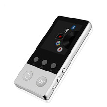 2017 High Quality Alloy Bluetooth MP4 Player 8GB Can Support TF Card with FM Radio Pedometer Recorder E-Book Video Music Player(China)