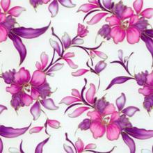 Free Shipping Car-Soul 5Sqm width 50cm CS434-1 purple flower pattern water dipping hydrographic films water transfer film