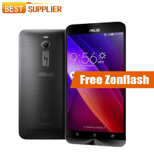 Hot Asus ZenFone 2 ZE551ML Atom Z3560 1.8GHz 5.5'' Android 5.0 4GB RAM 16GB ROM 13.0MP NFC GPS Dual SIM Mobile phone(China)