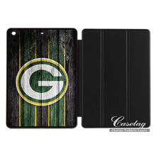 Green Bay Packers Football Fans Smart Cover Case For Apple iPad 2 3 4 Mini Air 1 Pro 9.7(China)