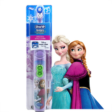 Oral B Children Electric Toothbrush Oral Care Soft Bristle Head Kids Stage Power Battery Oprated Cartoon Tooth brush Child