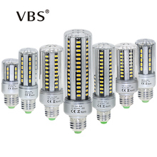 E27/E14 LED Corn Bulb SMD5736 5W 7W 9W 12W 15W 18W 20W Aluminum PCB Corn Bulb 24 36 42 54 60 78 90leds Energy Saving Lamp(China)