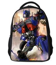 2016 upgrades transformers schoolbag boy kids school bag cartoon child bag children backpack