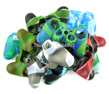 Camouflage Silicone case protective Skin Case Cover for PS3 playstaion 3 controller