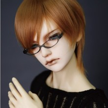 doll accessories 1/3 1/4 Bjd wig doll hair wig short straight gentle design man male boy cool preppy style- fb17(China)