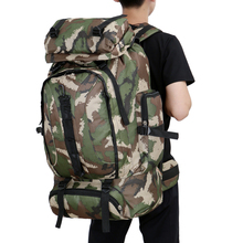 Military Tactical Molle Hiking Hunting Camping Back pack Rifle Backpack Climbing Bags Outdoor Sports Travel Camouflage Bag