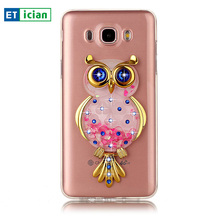 Buy Bling Case Samsung Galaxy J7 2016 Luxury Glitter Owl TPU Stand Transparent Cover Samsung J7 Phone Accessory Girls for $4.24 in AliExpress store