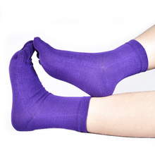 MIRISI Solid color women five toe socks nice and soft toe socks 6pairs(China)