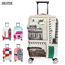 Thick elastic baggage cover with zipper 18 -32 inch luggage case protective cover waterproof travel accessories trolley cover