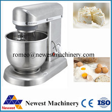 220V/ 110V Commercial 7L chef kitchen cooking food stand mixer, cake dough bread cream mixer machine(China)