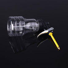 Buy Pump Oil Can pot Gun Oil Injector Transparent 250ml PO02 Lubrication Flex