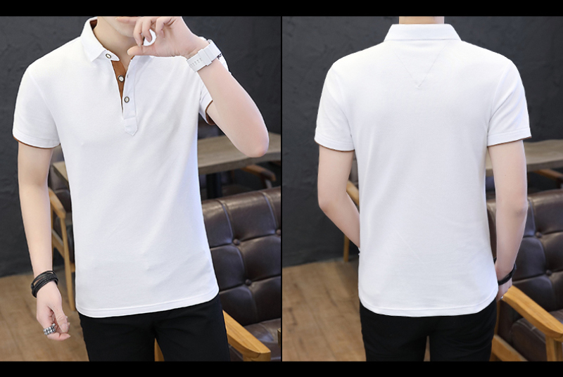 SD Polo Shirts Men 2018 New Arrivals Casual Male Polo Shirts Breathable Cotton Tops High Quality Solid camisa Polos Homme 413 25