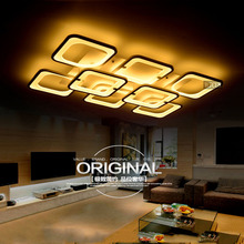 New products, acrylic square Ceiling Lamp, 5/8 heads sales, the living room Ceiling Lamp, LED Ceiling Lamp