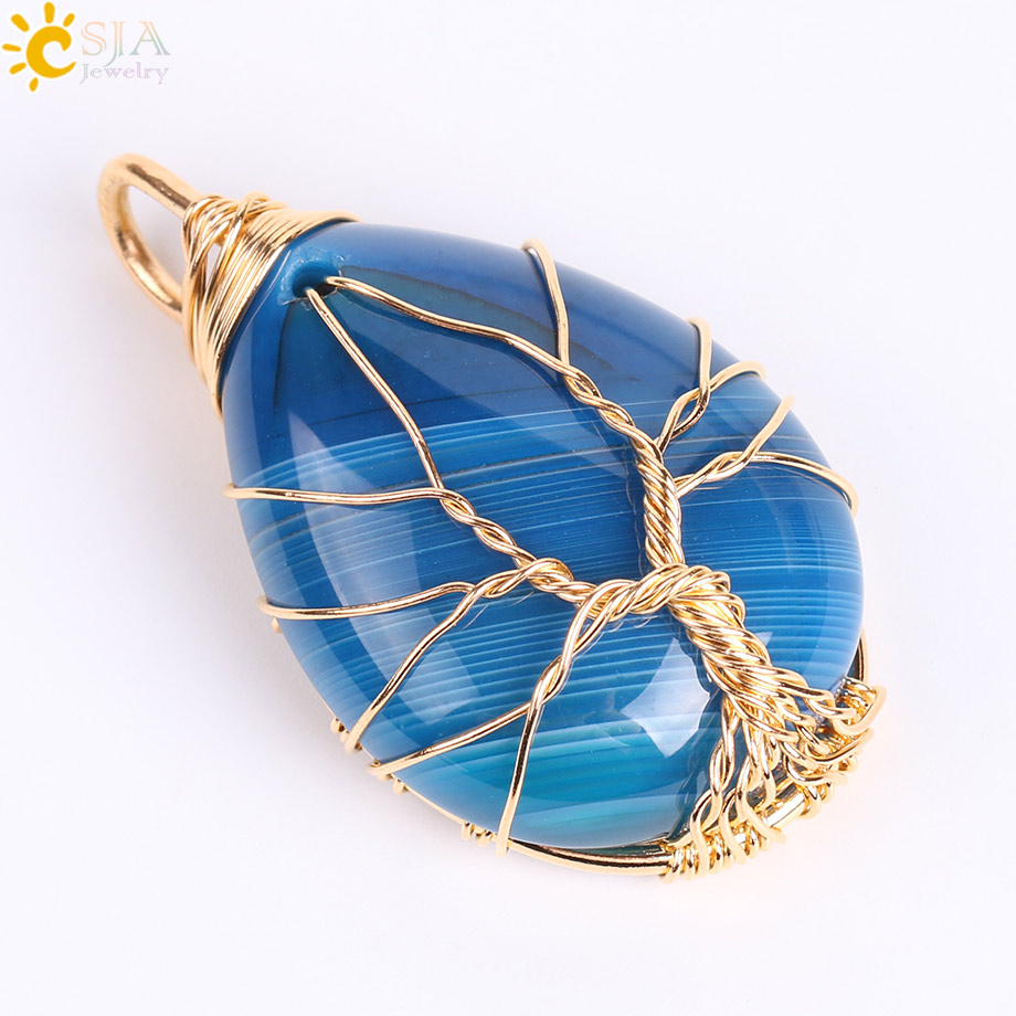 Blue Veins Agate D