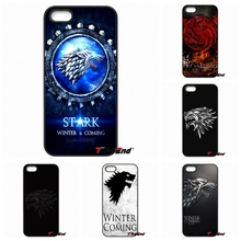 For Motorola Moto E E2 E3 G G2 G3 G4 PLUS X2 Play Style Blackberry Q10 Z10 GOT Game Of Thrones House Stark Logo Phone Case