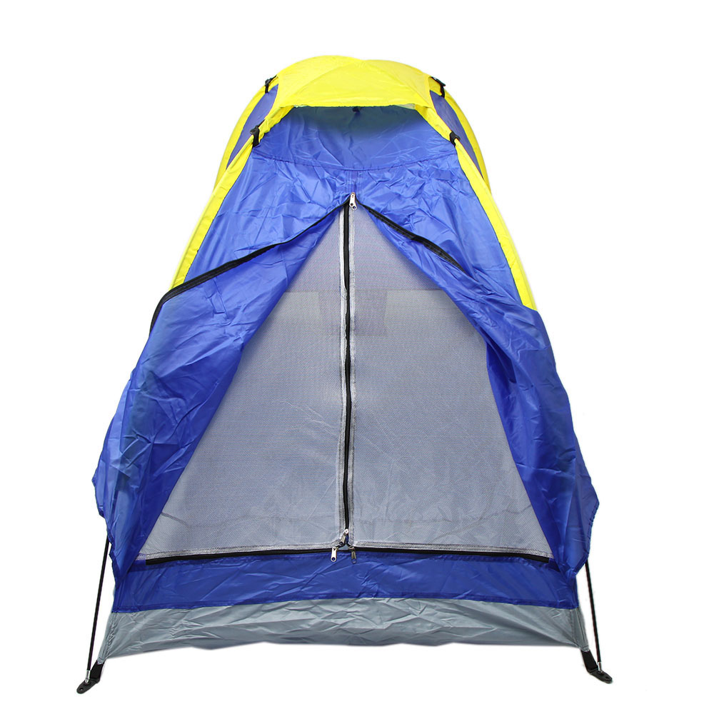 UV-Resistant Outdoor Camping Fishing Tent Single Layer Quick Automatic Opening Camping Tents For 1 Person(China)