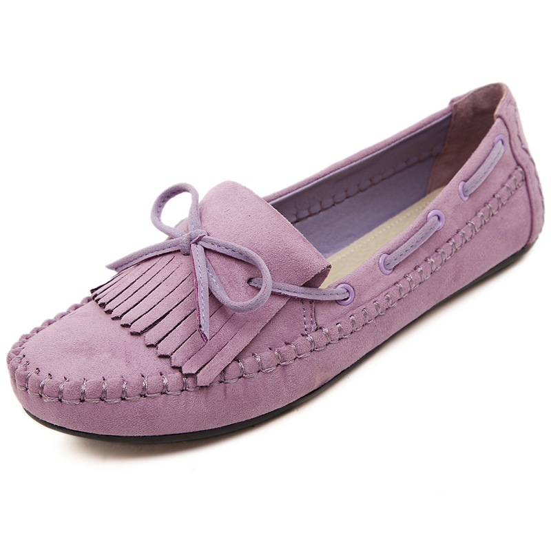 2017 casual single shoes maternity shoes flat single shoes bow Moccasins womens shoes<br><br>Aliexpress