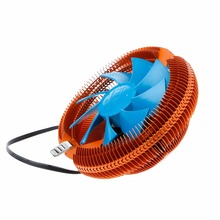 Temperature Control Mute Copper PC CPU Cooler Cooling Fan For AMD 754 Intel 775