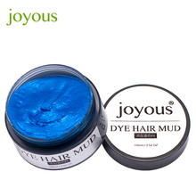 Joyous One-time Dye Hair Dye Hair Spray Mud Cream Men's Hair Dye May11
