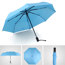 Auto Open Close Travel Outdoor Umbrella Compact Lightweight Automatic Rain Sun Mini Umbrella Hot Sale(China)