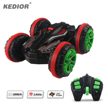 Buy 1:18 Stunt RC Car 360 Rotate Remote Control Car Driving Water Land Amphibious Electric Toys Boys Gift for $32.99 in AliExpress store