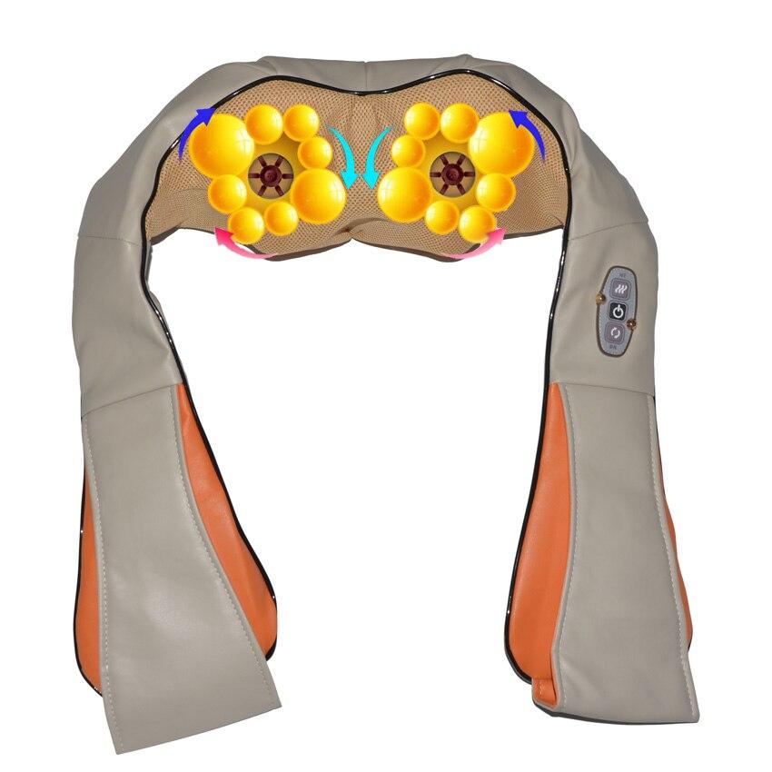 Amkee Health Care Products Infrared Body Back Neck Shoulder Massager Electric Car Home Acupuncture Kneading Cellulite Massagem<br>