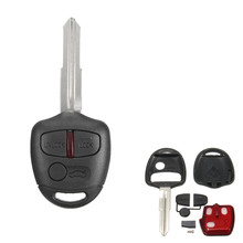 3 Button Remote Smart Key Fob 433MHz ID46 Chip for Mitsubishi /Lancer /Outlander
