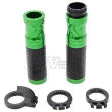 7/8'' 22MM Universal CNC Motorcycle handlebar grip handle bar for KAWASAKI ZX6R ZX636R ZX6RR 2000 2001 2002 2003 2004