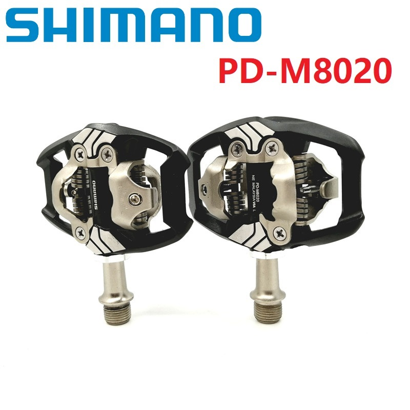 New Shimano Deore XT PD-M8020 SPD Mountain Bike Cycling Pedals