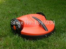 1Pcs/Lot Intelligent lawn mower auto grass cutter, auto recharge, robot grass cutter garden tool(China)