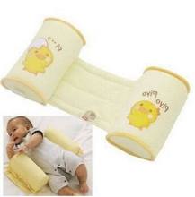 1 Piece Comfortable Cotton Anti Roll Pillow Lovely Baby Toddler Safe Cartoon Sleep Head Positioner Anti-rollover AF010(China)