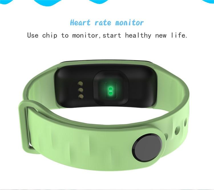 Original C1Plus Smart Bracelet Color Screen Blood Pressure Waterproof Fitness Tracker Heart Rate Monitor pk fitbits miband 3 6