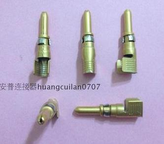 1PCS 213841-4 High current gold plated pins connector<br>