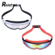 Relefree Shield Style Anti Fog Kids Swimming Goggles Outdoor Adjustable Children Eyeglasses For Girl / Boy Swim Glasses(China)