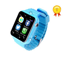 2017 new Children Security Anti Lost 1.54''GPS Tracker smart watch kids gps watch With camera support facebook twitter whatsapp