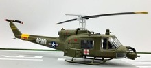 TRUMPETER 1:72 U.S.A B UH-1 Multi purpose ambulance helicopter model 36908 Static collection model(China)