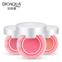 BIOAQUA Brand Air Cushion Blush Bronzer Makeup Mineralize Blusher Cheek Sleek Cosmetics Soft Powder Naked Make Up Nude Maquiagem