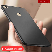 MAKAVO Cover For Xiaomi Mi Max Case 360 Full Protection Soft Silicone Housing Matte Design For Xiaomi MiMax Mi Max 2 Phone Cases(China)