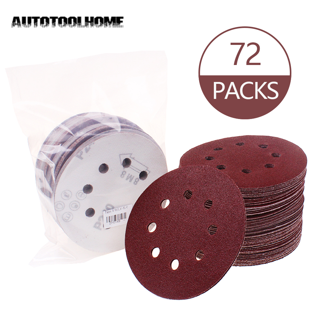 Backer Pad Hook And Loop Polishing Sander Disc+10pcs//set Sandpapers For Makita