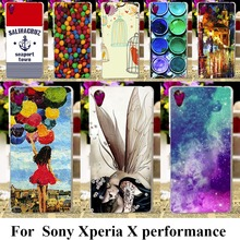 Soft TPU Plastic Cases For SONY Xperia X performance F8131 F8132 SONY xperia XP Dora SS 5.0inch Cases Skin Painted Bags shell
