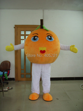 2014 new walking disguise orange costumes fruit mascot design