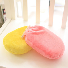 1PCS Multicolor Hot Water Bottle 1000ml Big Capacity EP Water-filling Bag With Detachable Plush Cover 23*16.8*7.6cm