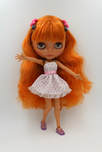Free Shipping Top discount JOINT DIY Nude Blyth Doll item NO. 237J Doll limited gift special price cheap offer toy USA for girl(China)