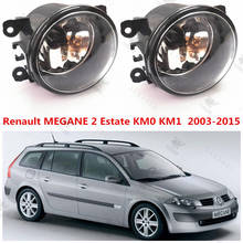 For RENAULT MEGANE II Estate (KM0/1) 2003+2015 Front bumper light Original Fog Lights lamp Halogen car styling.1SET.8200074008