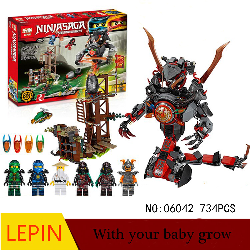Hot Building Blocks Lepin Ninja 06042 Educational Toys For Children Best birthday gift Decompression toys Furniture collection<br>