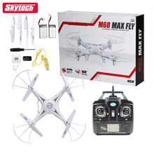Skytech M68R RC Quadcopter with 2MP Camera 4 CH 2.4GHz 6-Gyro Remote Control Drone with Headless System