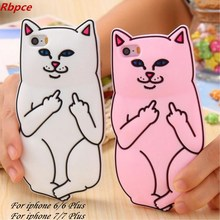Fashion trend refers to the cat pocket cheap cat for iphone6s / 6 Plus silicone sets of mobile phone shell for iphone 7 / 7plus